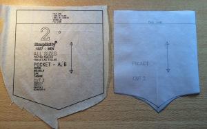 Altering the pocket pattern