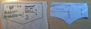 Adapting the pocket flap pattern