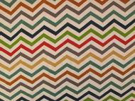 Chevron jersey fabric from the Fabric Godmother