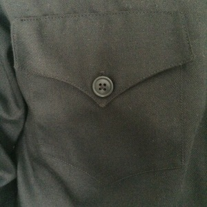 Patch pocket with flap